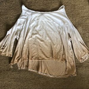 Free people ombré blouse. XS